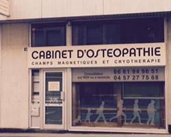 Cabinet d'ostéopathie à Sallanches en Haute-Savoie